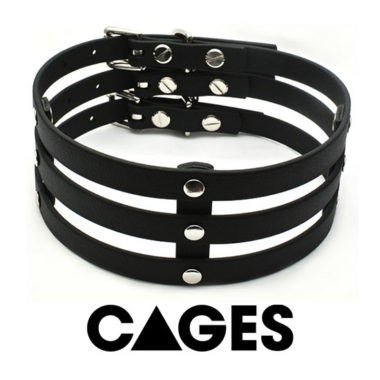 Vegan Cage Collars
