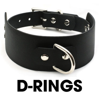D-Ring Vegan Collars