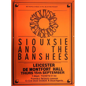 Siouxsie & The Banshees – De Montfort Hall, Leicester, 15th September 1988